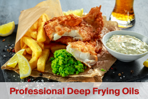 deep frying oil