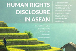 human right disclosure in asean